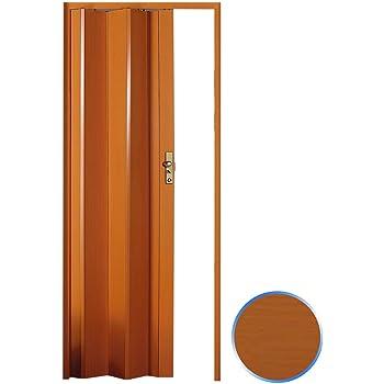 Forte Puerta Plegable de Interior de PVC Cerezo 83x214 cm Mod.Maya: Amazon.es: Hogar