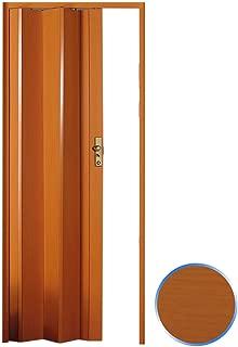 Forte Puerta Plegable de Interior de PVC Cerezo 83x214 cm