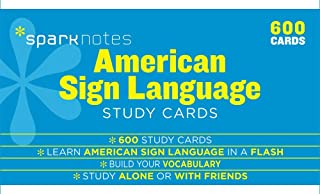 American Sign Language SparkNotes Study Cards (Volume 20)