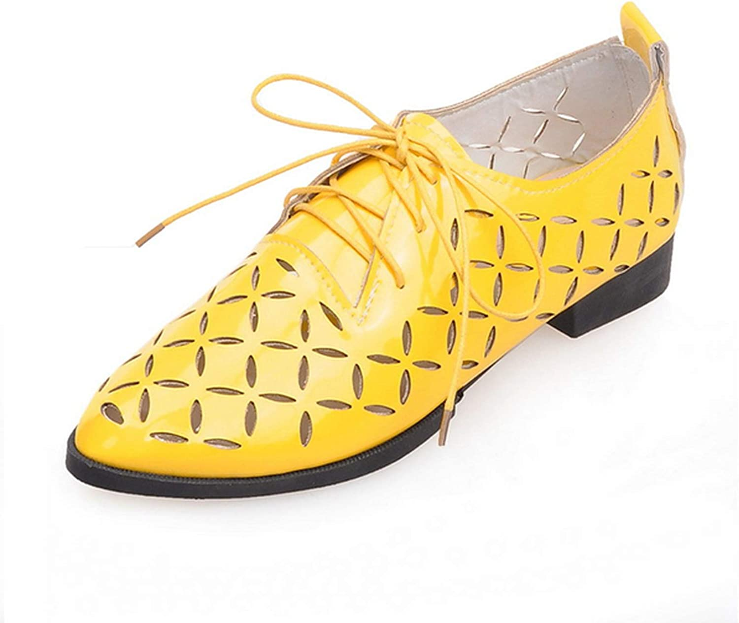 Be fearless Luxury Breathable Women Loafers Summer Flats Derby shoes Woman Lace Up Pointed Toe Casual shoes