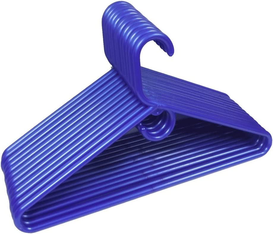 THE UM24 Max 46% OFF 12 Set Heavy Duty Ad Hangers Plastic Blue Tubular Topics on TV Jumbo