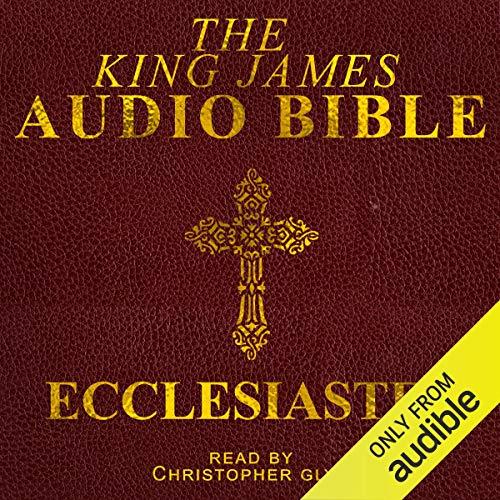 Ecclesiastes  By  cover art
