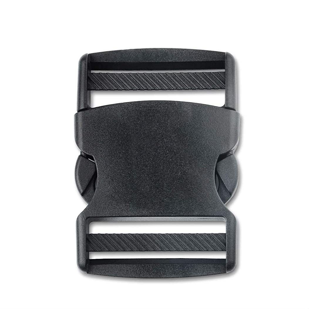 DYZD Side Release Buckles Plastic Webbing Buckle for Backpack Bag (52mm, 2 PCS)