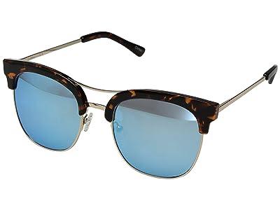 Sam Edelman Retro Combo (Tortoise) Fashion Sunglasses
