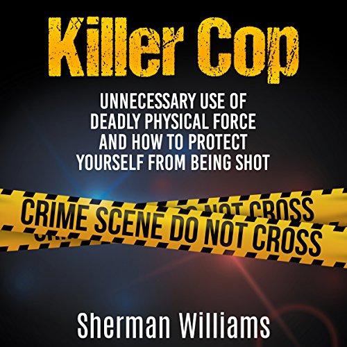 Killer Cop audiobook cover art