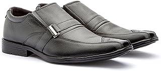 Sapato Social bico quadrado Embuia