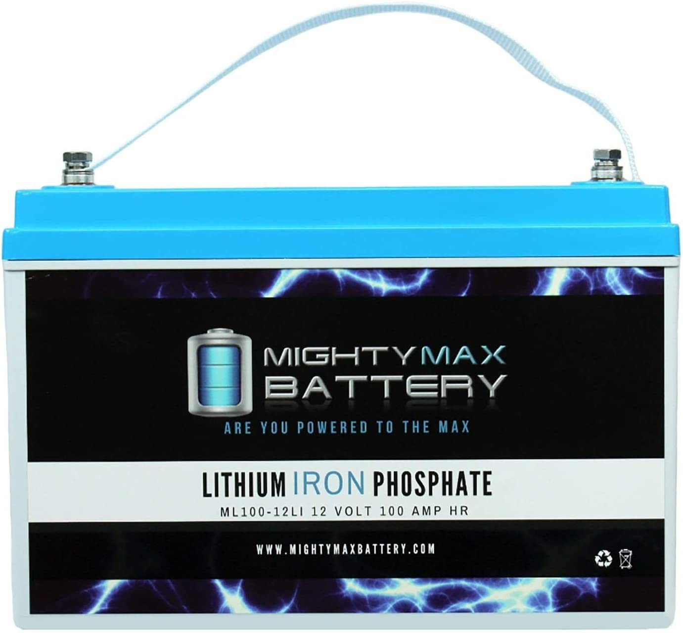 Mighty Max Battery 12V 100AH Fashionable Replacement Lithium REC for Los Angeles Mall