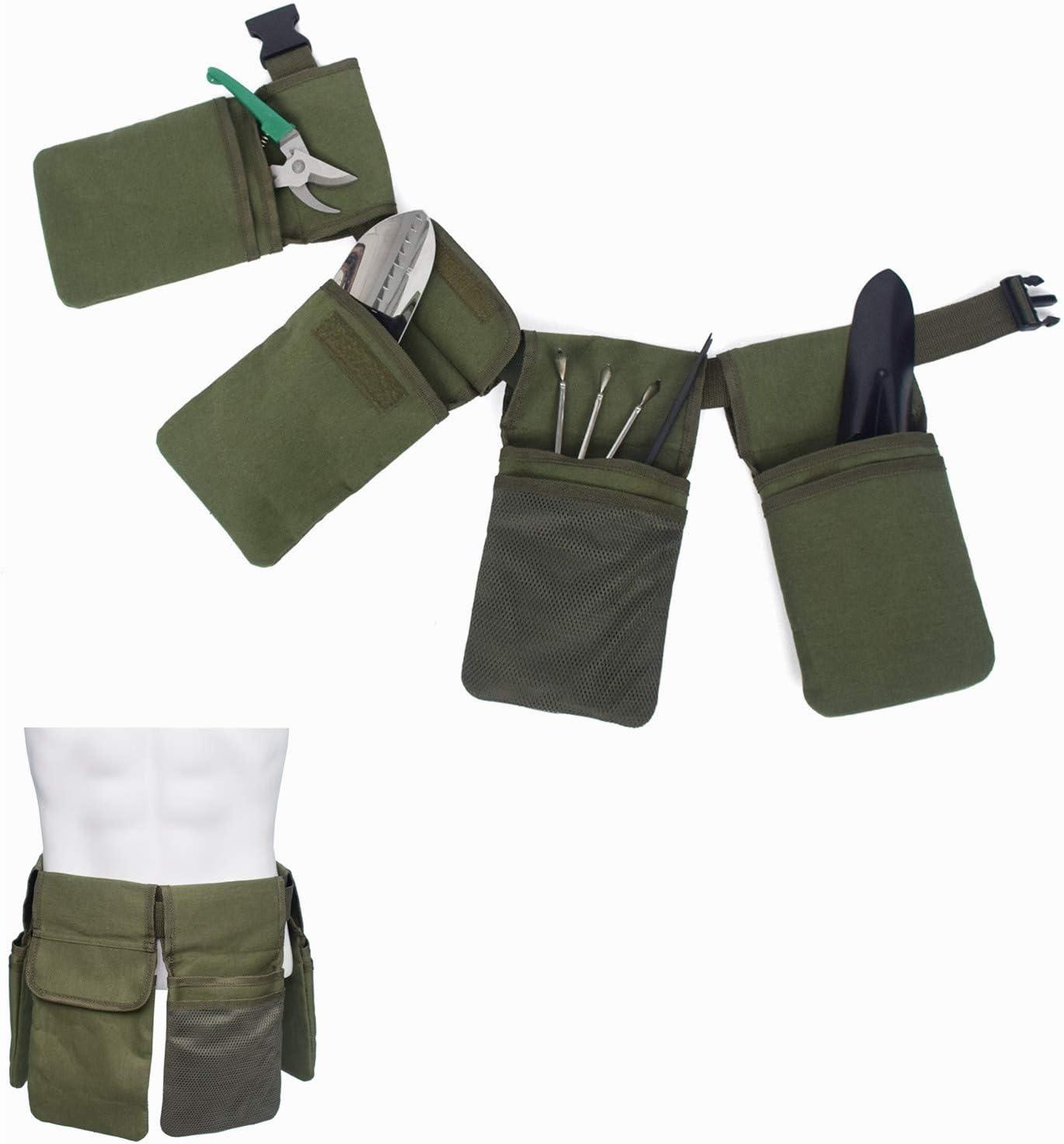 Canvas Tool Belt For Women Garden Side Inventory cleanup selling sale Apron Adjus Over item handling ☆ Single