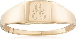 children's signet rings