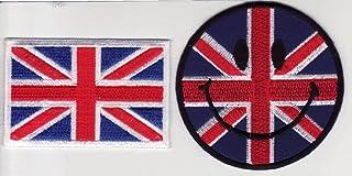 Mod angleterre ecusson anglais ecusson drapeau thermocollant 5 x 10 cm Ecusson thermocollant