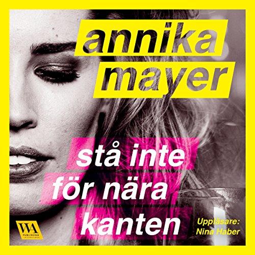 Diseño de la portada del título Stå inte för nära kanten