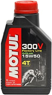 Motul 300V 4T Competition Synthetic Oil 15W50 4L. 836241/101363