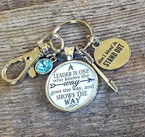 ButtonIt LEADERSHIP, leader, mentor, key chain, master teacher, preceptor, consultant, leadership gifts, BOSS gifts, INSPIRATIONAL jewelry, school leadership, ASB, manager gift, upline gifts