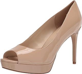NINE West Women's Elyse3 Pum، جلد طبيعي خفيف حائز على براءة اختراع، 7