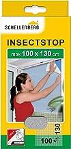 Schellenberg 50712 nylon horrengaas, muggen en insectengaas inclusief bevestigingstape, bevestiging zonder te boren, 100 x...