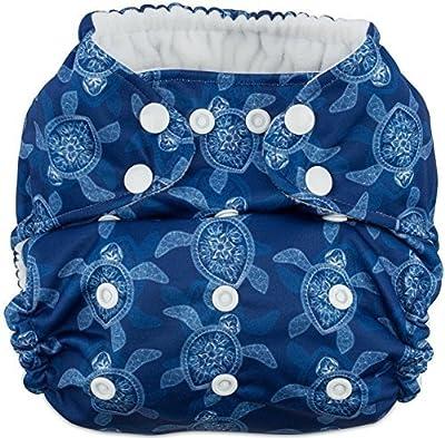 Coquí Baby All-in-One (AIO) Multi-Size Cloth Diaper (Sea Turtles)