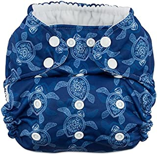 Hero Trim-Fit Cloth Diaper with Performance Bamboo Insert (Sea Turtles)