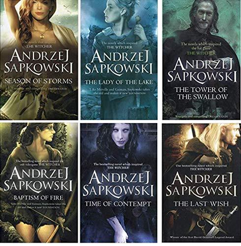 Andrzej Sapkowski Witcher Series...
