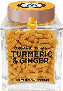 Organic Fijian Turmeric & Ginger Capsules (500 MG | 250 CT)