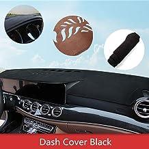 Alfombrilla de salpicadero para T oyota FJ Cruiser Cubierta de Fundas de salpicadero del tablero resistente al calor antirreflectante cuero Negro