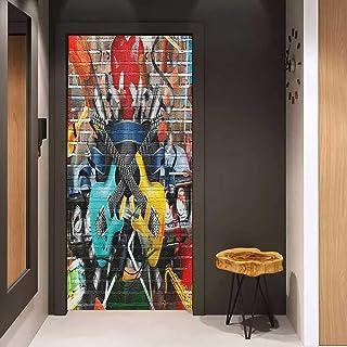 Super Auraise Home Toilet Seat Decal Vinyl Rainbow Town Street Evergreenethics Interior Chair Design Evergreenethicsorg