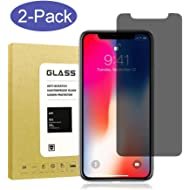 [2Pack] for iPhone X & iPhone Xs & iPhone 11 Pro Privacy Screen Protector,Webmi[9H...