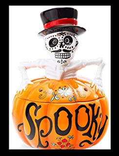 SCENTSY WARMER HOLIDAY HARVEST COLLECTION SPOOKY. FULL SIZE CERAMIC WAX WARMER WITH LIGHT - NEW OUT 2018