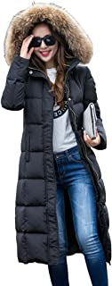 Women's Fashion Winter Hooded Coat Ultra Long Down Jacket