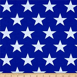 Best blue and white star knit fabric Reviews