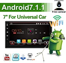 Lastest Anddroid 7.1 Quad Core 7 Inch HD 1024600 Touch Screen Universal Car Radio Navigation Stereo Entertainment Multimedia FM/AM/RDS Radio/GPS/WiFi/Bluetooth/Mirror Link(No DVD Player!)