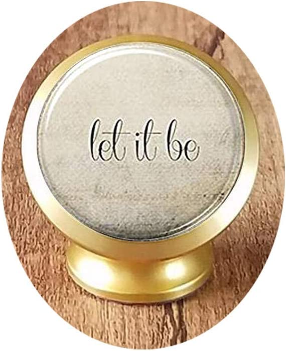 Let New life It Be Keychain Qu Quote Excellent Inspirational