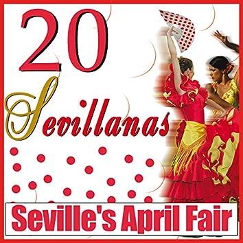 Seville's April Fair . Sevillanas Dance