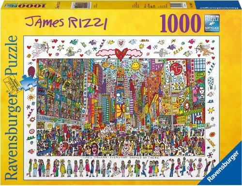 Ravensburger Pz. James Rizzi 1000T. (190690) Ravensburger Spieleverlag GmbH