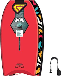 Flood Dynamx Stringer 40 - Bodyboard, Color Rojo
