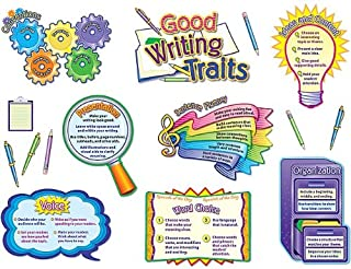 Teacher Created Resources Good Writing Traits Bulletin Board Display Set (4404)