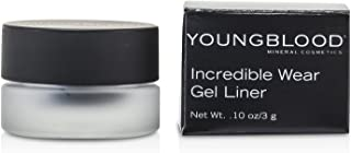 Youngblood Mineral Cosmetics Incredible Wear Gel Liner, MIdnight Sea (Dark Blue) Eyeliner 0.1 Ounce
