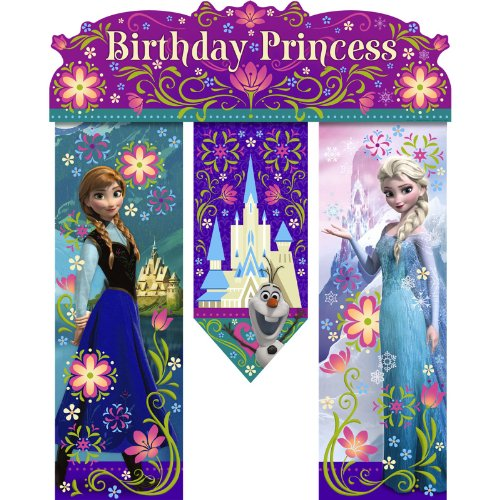 Hallmark Disney Frozen Birthday Banner - Birthday Party Supplies
