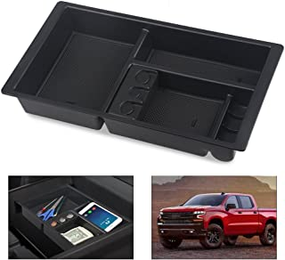 VANJING Center Console Insert Organizer Tray Replacement for 2015-2018 GM Vehicles Chevrolet Silverado GMC Sierra Tahoe Suburban Yukon Console Insert-Replaces 22817343(Full Console w/Bucket Seats Only