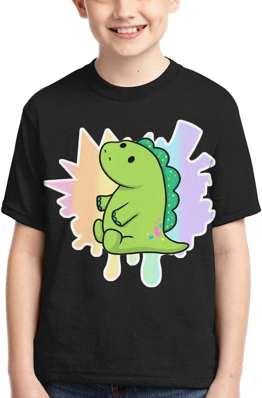 Moriah Eliza-Beth Boys T-Shirt Kids Crewneck Short Sleeve Youth Shirt Teen Tee Tops Child