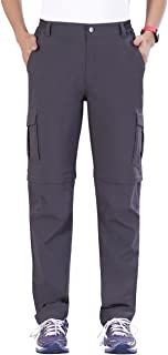 Women's Outdoor Water-Resistant Quick Dry Convertible Cargo Pants