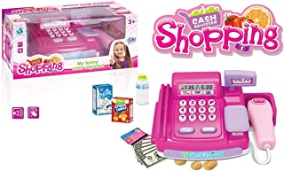 Basmah Shopping Cash Register, Pink, 18-8601