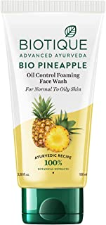 Biotique Bio Pine Apple Oil Balancing Face Wash for Oily Skin Types, 100ml