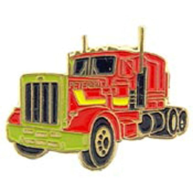 EagleEmblems P60153 Pin-Truck,Peterbilt (1'')