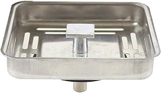 MeiZi Filtre de Drain d'évier carré en Acier Inoxydable 78 * 78mm '