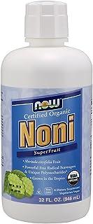NOW Supplements, Noni Liquid (Morinda citrifolia), Certified Organic, Super Fruit, 32-Ounce