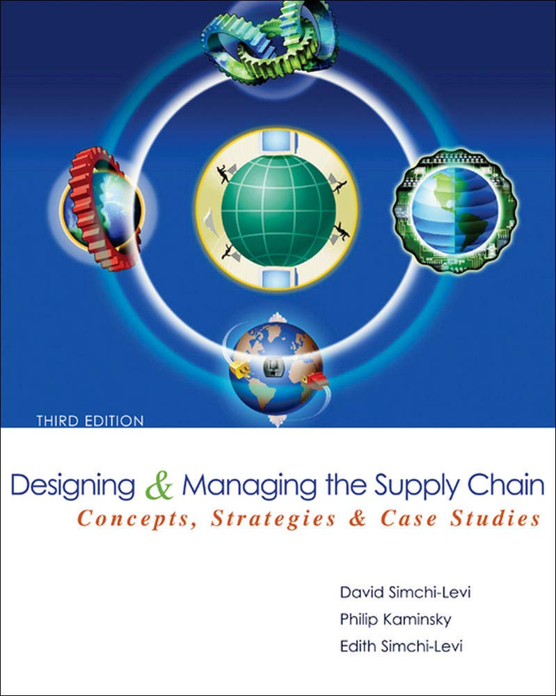 Image OfDesigning And Managing The Supply Chain 3e With Student CD