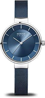 BERING Womens Analogue Solar Powered Watch with Stainless Steel Strap 14631-307