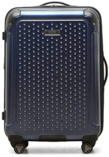 Kenneth Cole Reaction 24 Inch Embossed Dot Hard Side Suitcase