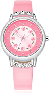 WUTAN Watches for Girls Boys Adorable Cute Wrist Watch Girl Fashion Waterproof Wrist Watches for Kids Children