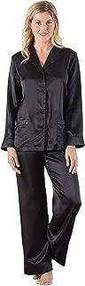 Addison Meadow Womens Satin Pajamas - Pajama Set for Women with Button Front